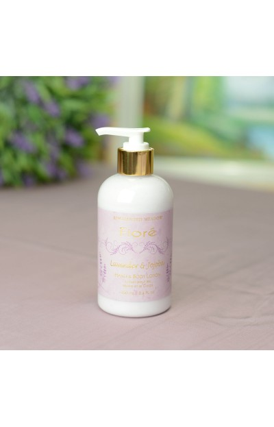 Image of Hand & Body Lotion 250 ml / 8.4 fl oz, Lavender & Jojoba