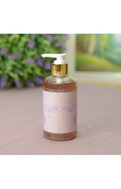 Image of Bath & Shower Gel 250 ml / 8.4 fl oz, Lavender & Jojoba