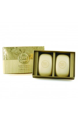 Milled Soap Gift Box, Linden & Mimosa