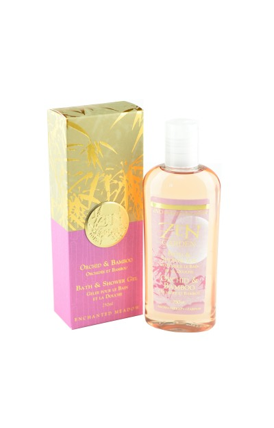 Image of Bath & Shower Gel, Orchid & Bamboo - 250 ml