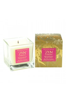 Soy Candle in Box, Orchid & Bamboo