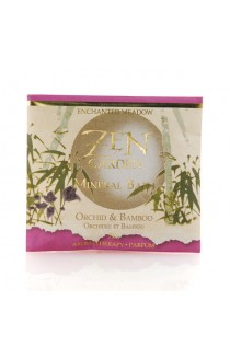 Mineral Bath Salts in Envelope, Orchid & Bamboo - 75 g each