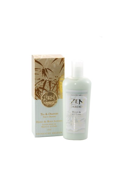 Hand & Body Lotion, Tea & Oranges - 250ml