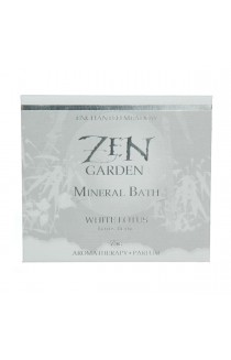 White Lotus, Mineral Bath Salts Envelope 75 g/2.6 oz