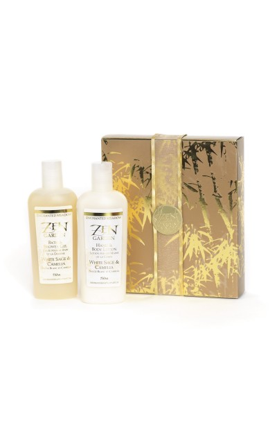 Gift Set of 2, White Sage & Camelia