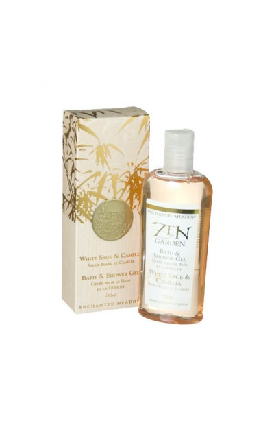 Image of Bath & Shower Gel, White Sage & Camelia - 250ml